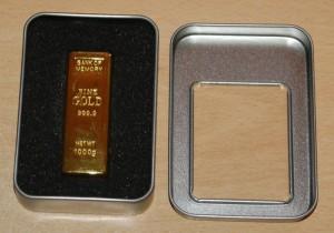 USB Memory Stick Gold Bar
